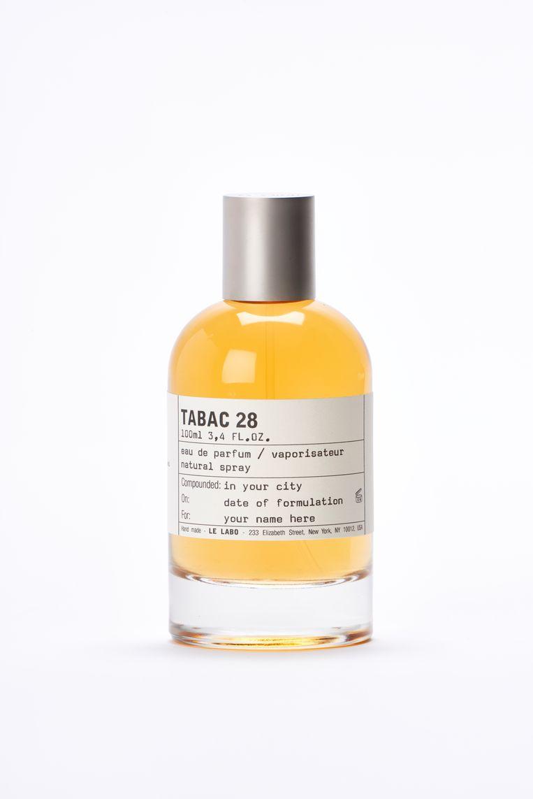 Le Labo Tabac 28 eau de parfum: 15ml €103 / 50ml €271 / 100ml €395 Beeld