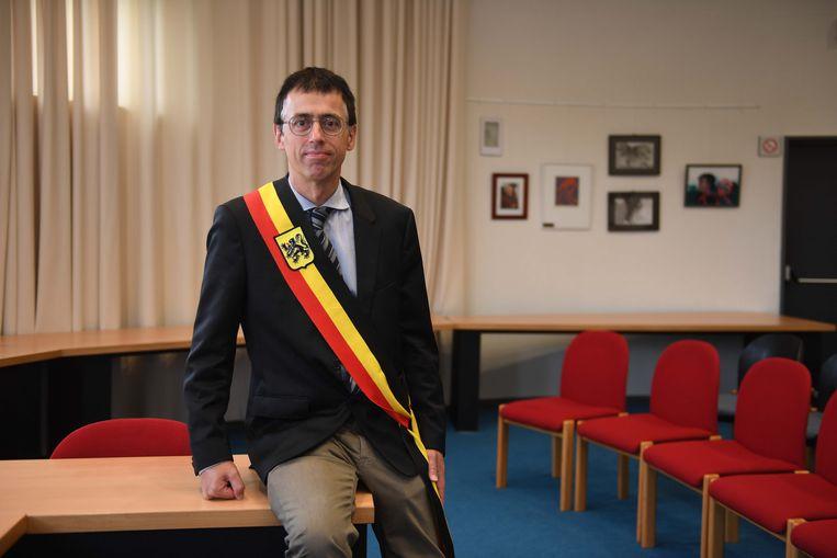 Gemeenteraadsverkiezingen 2018 (tekst Bart).Burgemeester Hans Eyssen van Holsbeek