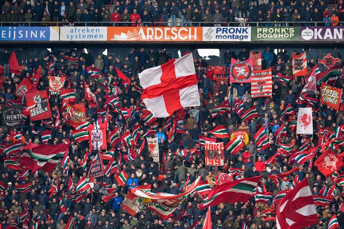 De vlag gaat niet uit bij FC Twente over de naheffing van 4,4 miljoen, maar een meevaller is het wel.