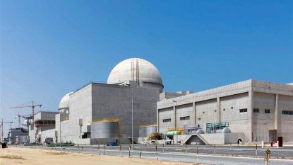 Emiraten hebben eerste kernreactor afgewerkt