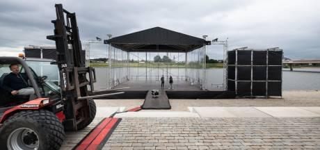 Spiegelwaalconcert, het cadeau van eco-hoofdstad Nijmegen