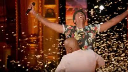 Golden Buzzer! Joseph verbluft 'America's Got Talent' met zelfgeschreven nummer