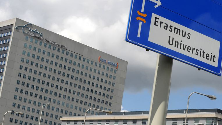 De Erasmus Universiteit Rotterdam staat op de 71ste plaats in de top 200. Beeld ANP