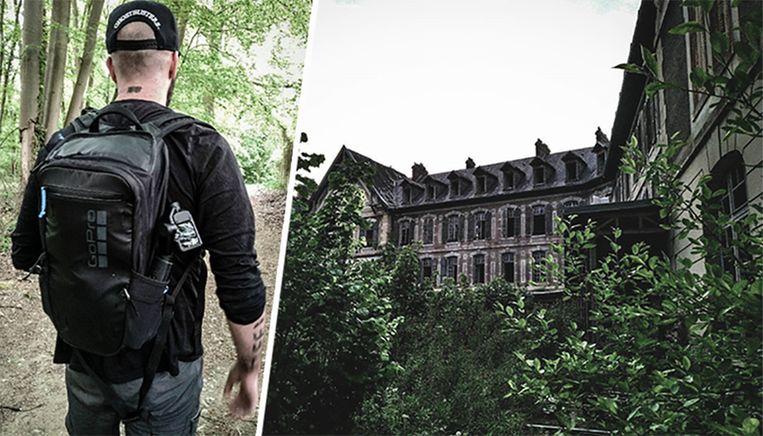 Mister C trok deze keer naar een 'spookziekenhuis' nabij Parijs.