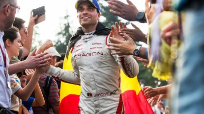 Jérôme D'Ambrosio wordt derde in Formule E Zürich, zege voor Di Grassi