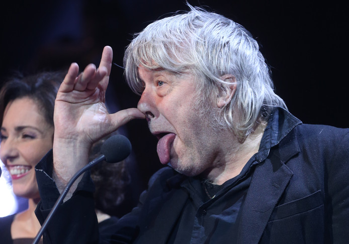 Arno, lors des D6bels music awards, en janvier 2016