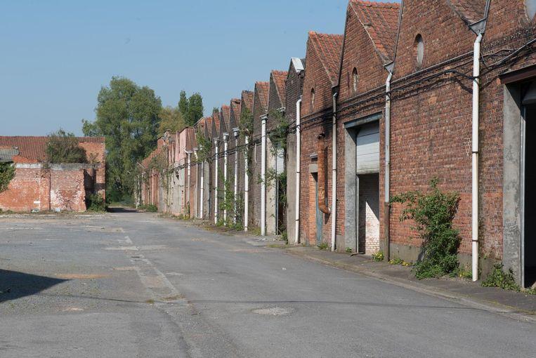 De gebouwen van Saffre Frères zijn al jaren verlaten en verloederd.
