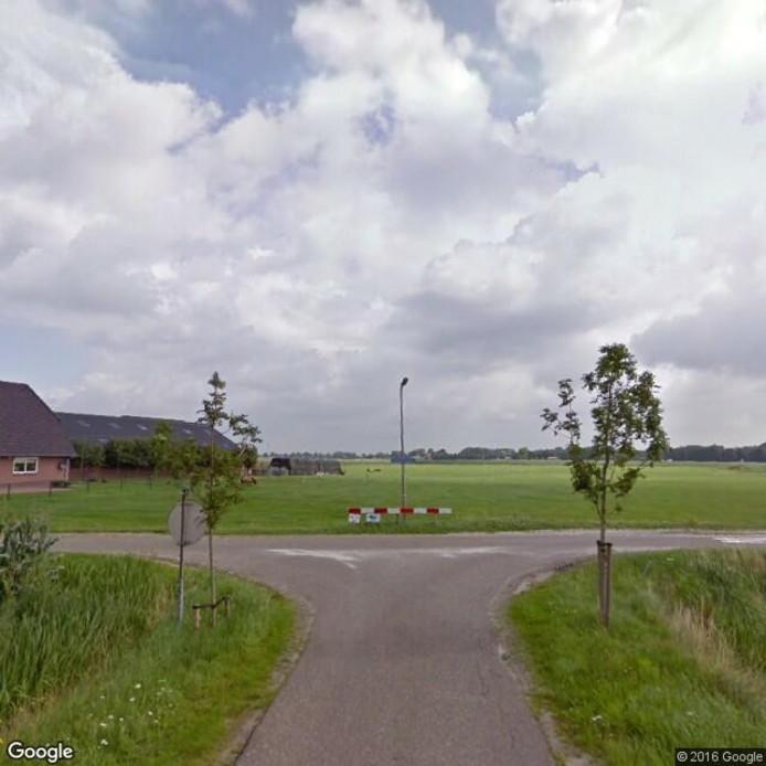 De krusing van de Bomhofsweg en de Haersterbroekweg