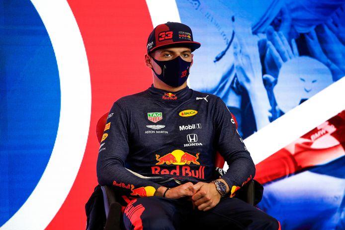Max Verstappen kan goed leven met zijn derde plaats in de kwalificatie.