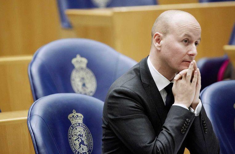 Ex-VVD-Kamerlid Mark Verheijen, stapte in februari op vanwege onzorgvuldige declaraties in zijn tijd als gedeputeerde in Limburg. Beeld anp