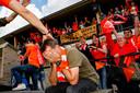 AMERSFOORT,  MOERSE BOYS-VKW. Foto Pix4Profs/ Gino van Outheusden. Coach Jurgen Arnouts hkan het niet bevatten