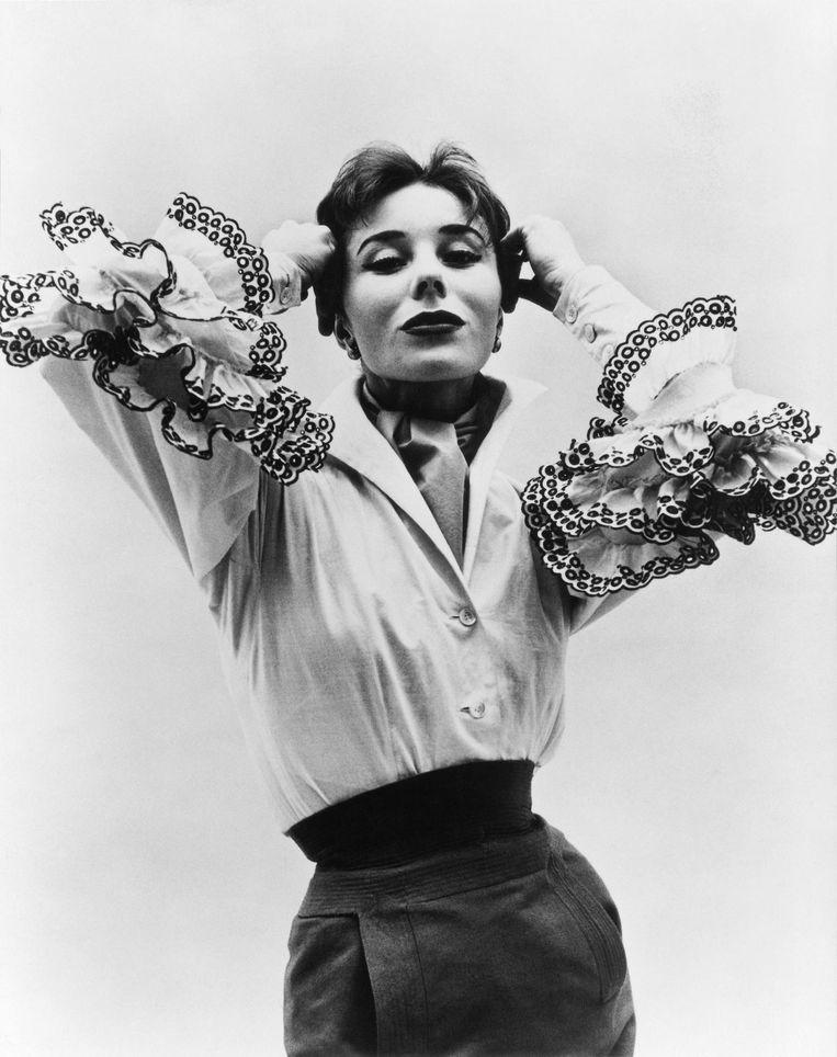 Bettina Blouse uit de eerste collectie (1952) Beeld getty