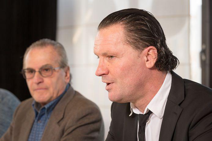 Louis de Vries en coach Stijn Vreven