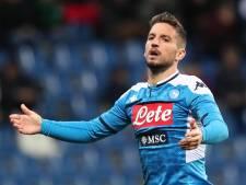 Dortmund et Arsenal lorgnent Mertens, Naples n'a pas dit son dernier mot