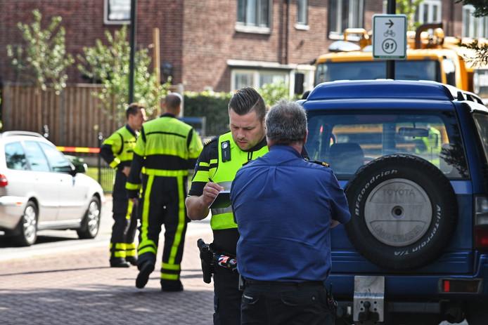 Gaslek Bavelselaan in Breda.