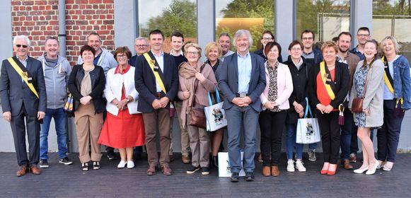 De gemeente Ruiselede trakteerde de nieuwe inwoners op een ontbijt in Het Portaal