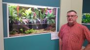Aquariumclub Gracilis stelt meer dan 30 aquaria tentoon tijdens tweejaarlijkse show