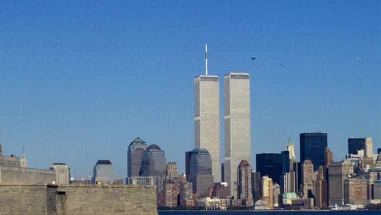 Skyline van New York vóór 2001, met de Twin Towers. Beeld Thinkstock