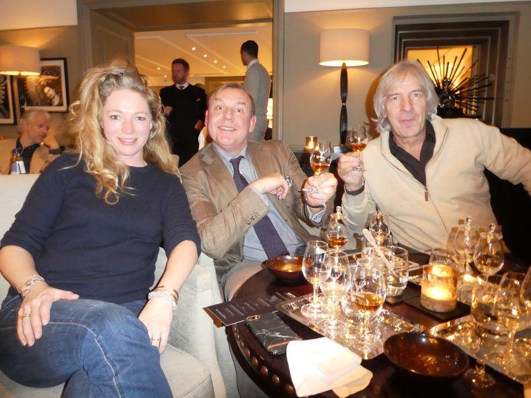 Mijn disgenoten Sanne Groot Koerkamp (Quest), Tom Kellerhuis (HP/De Tijd) en Lorenzo Ledel (Vision). Kellerhuis: