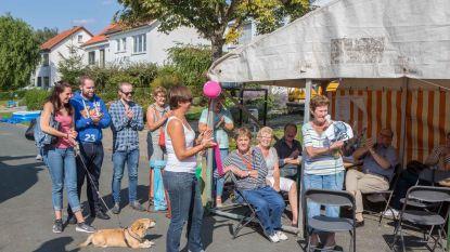 Buren laten hart zien tijdens wijkfeest