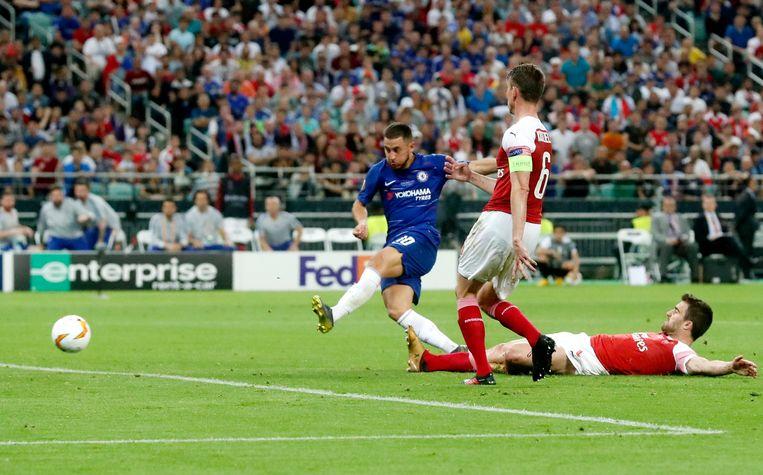 4-1: Hazard zet met zijn tweede goal de kers op de taart.