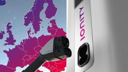 Elektrische auto in minder dan tien minuten opgeladen langs de E40 in Wetteren