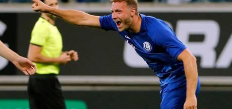 Barrages Europa League: La Gantoise sauvée par un doublé de Depoitre, partage pour l'Antwerp