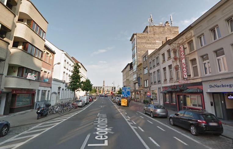 Leopoldstraat in Mechelen.