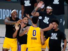 'Buzzer-beater' redt LA Lakers