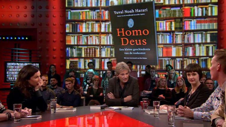 Boek van de maand Homo Deus. Beeld null