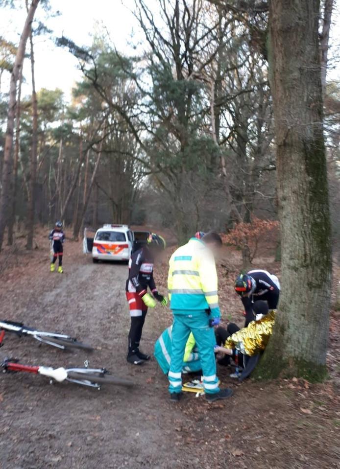 Mountainbiker gevallen in de Loonse en Drunense duinen