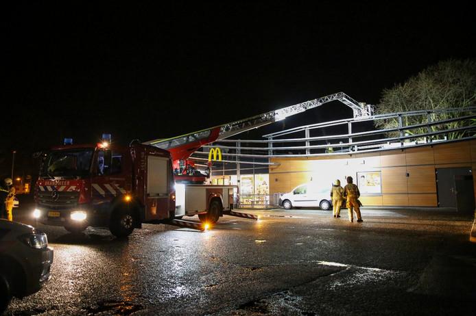 De brandweer was snel ter plaatse in Almelo.