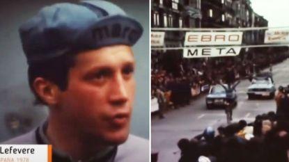"""Patrick Lefevere won 42 jaar geleden laatste grote profkoers: """"Ik dacht dat het nog 5 km was, maar ik moest er nog 20 afleggen"""""""