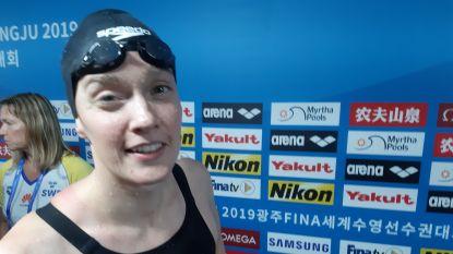 """Kimberly Buys stelt teleur op 100m vlinder: """"Hiervoor kwam ik niet naar Gwangju"""""""