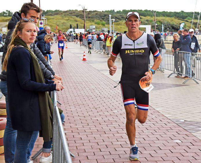 Patrick de Sutter uit Oostburg was in september 2019 één van de vele Zeeuwse deelnemers aan de Zwintriathlon.