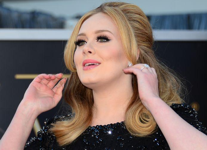 Zangeres Adele.