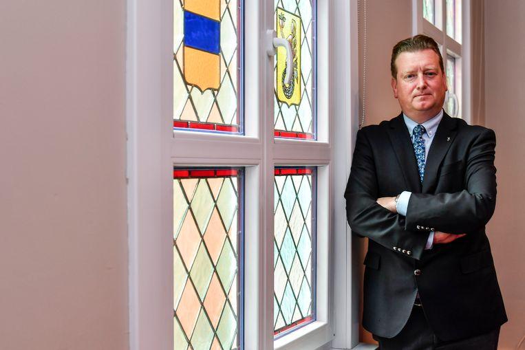 Burgemeester Jurgen Bauwens (CD&V)