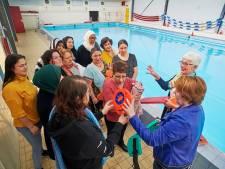 Vrijwilligerspenning voor Ans van Rossum van zwemclub Zeester-Meerval