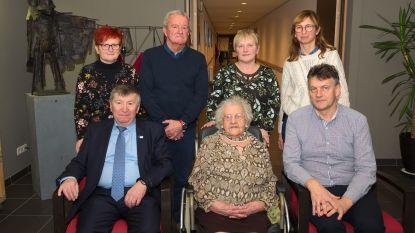 Maria Boodts viert 100ste verjaardag in Huize Vincent