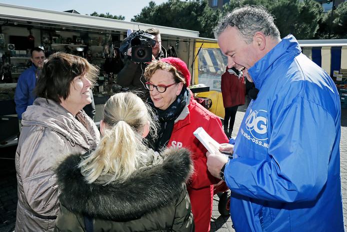 De SP van Marie-Therese Janssen en de VDG van Frank den Brok kwamen er samen niet uit in Oss.