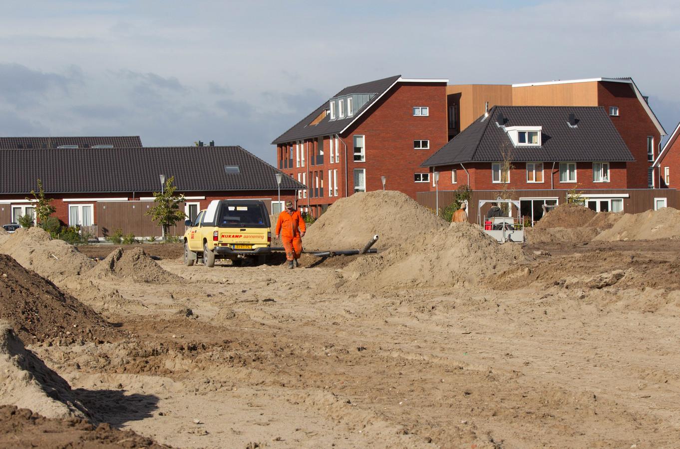 Ploen-Zuid in Duiven in aanbouw.