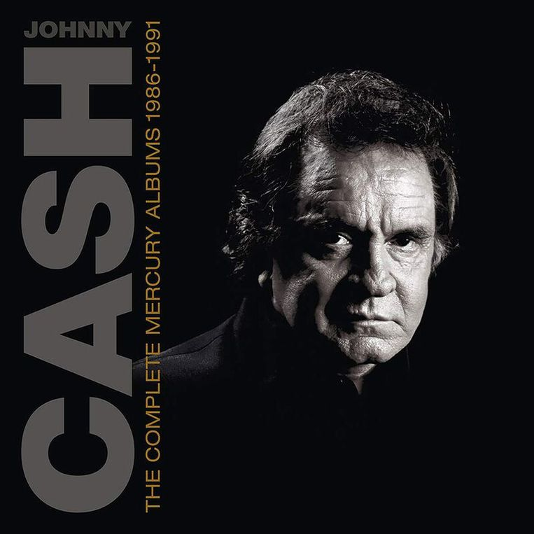 Johnny Cash, The Complete Mercury Recordings 1986-1991. Beeld