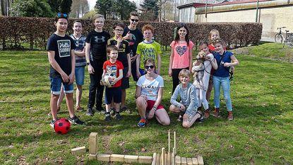 Nieuwe speelruimte in Strobrugge