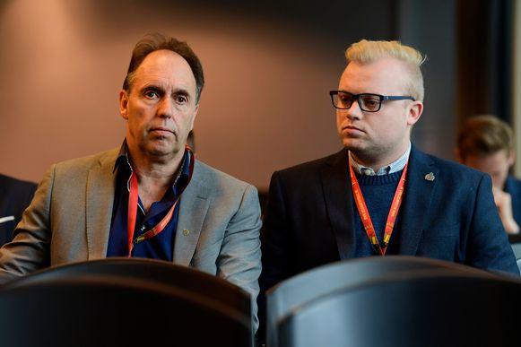 Dirk Huyck en Martijn De Jonge.