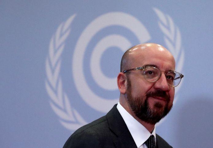 Le nouveau président du Conseil européen Charles Michel était présent à l'ouverture de la COP25 à Madrid.