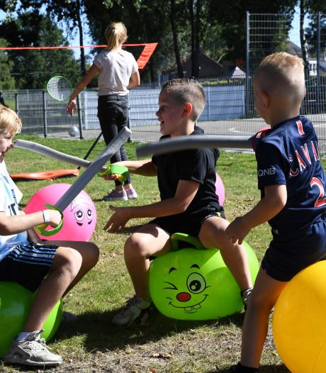 Bij speeltuin Boyke barst het van spontaan speelplezier