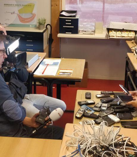 Veluwse basisschoolleerlingen kicken op elektrisch afval tijdens strijd om ticket naar Nemo in Amsterdam