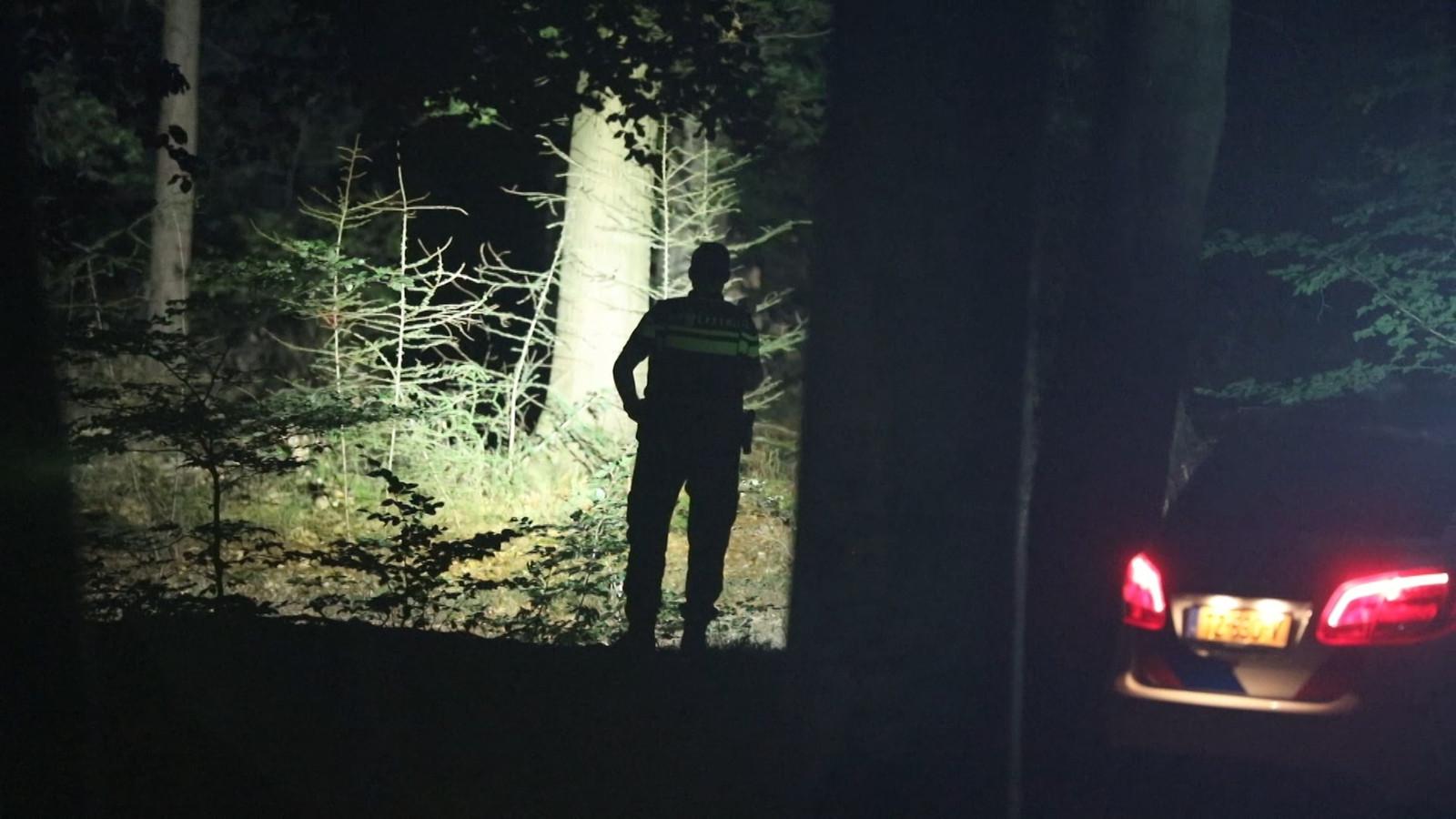 De politie zoekt een losgebroken stier langs de N224 bij Ede.