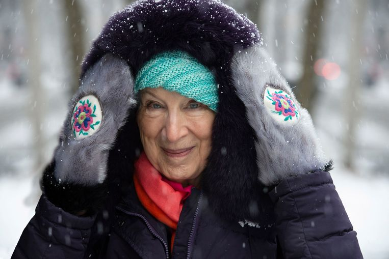 Margaret Atwood in de documentaire over haar leven. Beeld