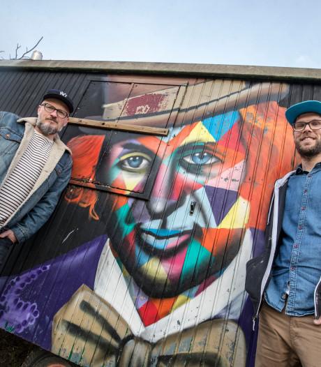 Graffiticollectief geeft Veenendaal én studio dj Nicky Romero kleur